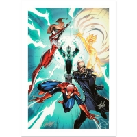 "Stan Lee & J. Scott Campbell Signed Marvel Comics ""Ultimate Mystery #1"" Limited Edition 18x27 Giclee"