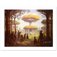 """Greg Hildebrandt Signed """"Lothlorien"""" Limited Edition 21x28 Giclee on Canvas at PristineAuction.com"""