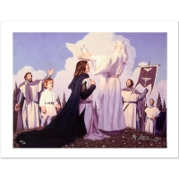 """Greg Hildebrandt Signed """"The Return Of The King"""" Limited Edition 21x28 Giclee on Canvas (PA LOA) at PristineAuction.com"""