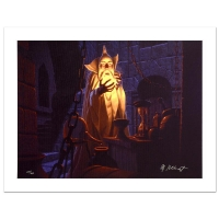 """Greg Hildebrandt Signed """"Saruman And The Palantir"""" Limited Edition 21x28 Giclee on Canvas at PristineAuction.com"""