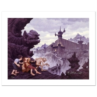 "The Brothers Hildebrandt ""City Of The Ringwraiths"" Limited Edition 28x21 Giclee on Canvas at PristineAuction.com"