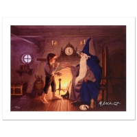 """Greg Hildebrandt Signed The Brothers Hildebrandt """"The One Ring"""" Limited Edition 28x21 Giclee on Canvas"""