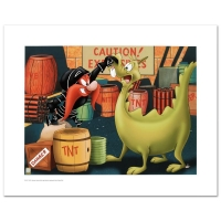 """""""Stupid Dragon"""" Limited Edition 12x16 Giclee from Warner Bros at PristineAuction.com"""