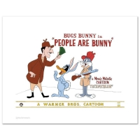 """""""People are Bunny"""" Limited Edition 16x20 Giclee from Warner Bros."""