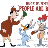 """People are Bunny"" Limited Edition 16x20 Giclee from Warner Bros. at PristineAuction.com"
