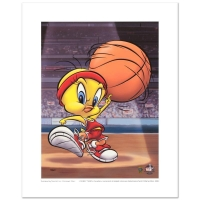 """Warner Bros. """"Roundball Tweety"""" Limited Edition 12x16 Giclee at PristineAuction.com"""