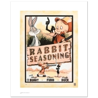 "Warner Bros. ""Rabbit Seasoning"" Limited Edition 12x16 Giclee at PristineAuction.com"