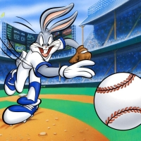"""Warner Bros. """"Fastball Bugs"""" Limited Edition 16x12 Giclee on Paper at PristineAuction.com"""