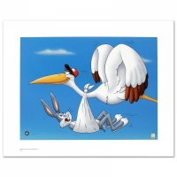 "Warner Bros. ""Special Delivery"" LE 16x12 Giclee at PristineAuction.com"
