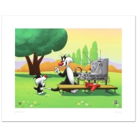 """Sylvester & Son - Radio Controlled Jet"" LE 16x20 Giclee from Warner Bros. at PristineAuction.com"