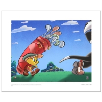"Warner Bros. ""Caddy with a Tattitude"" Limited Edition 16x12 Giclee"