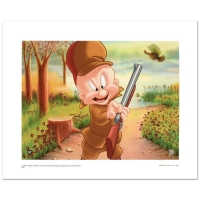 "Warner Bros. ""Elmer Hunting"" Limited Edition 16x12 Giclee"
