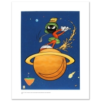 """Warner Bros. """"Marvin Martian Golf"""" Limited Edition 16x20 Giclee"""