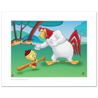 "Warner Bros. ""Let's Play Ball"" LE 20x16 Giclee at PristineAuction.com"