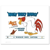 "Warner Bros. ""Walky Talky Hawky"" Limited Edition 16x20 Giclee"