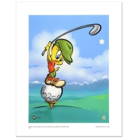 "Warner Bros. ""Tee-Off Tweety"" Limited Edition 16x12 Giclee at PristineAuction.com"
