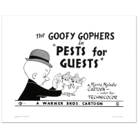 """Goofy Gophers"" Limited Edition 20x16 Giclee from Warner Bros. at PristineAuction.com"