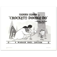"""Crockett Doodle Do"" Limited Edition 16x20 Giclee from Warner Bros."