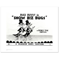 """""""Show Biz Bugs"""" Limited Edition 16x20 Giclee from Warner Bros."""