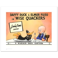"""Wise Quackers"" Limited Edition 16x20 Giclee from Warner Bros. at PristineAuction.com"