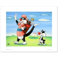 "Warner Bros. ""#1 Golfer"" Limited Edition 16x12 Giclee at PristineAuction.com"