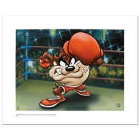 """Knockout Taz"" Limited Edition 20"" x 16"" Giclee from Warner Bros."