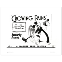 "Warner Bros. ""Crowing Pains with Sylvester"" Limited Edition 16x20 Giclee at PristineAuction.com"