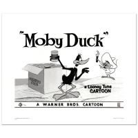 """Moby Duck - Daffy Duck & Speedy Gonzales"" Limited Edition 16x20 Giclee from Warner Bros. at PristineAuction.com"