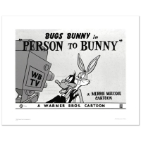 """Person To Bunny"" Limited Edition 16x20 Giclee from Warner Bros. at PristineAuction.com"