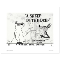 """""""A Sheep In the Deep"""" Limited Edition 16x20 Giclee from Warner Bros. at PristineAuction.com"""