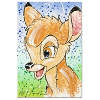 "David Willardson Signed ""Bambi the Buck Stops Here"" Disney Limited Edition 11x17 Serigraph at PristineAuction.com"