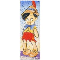 "David Willardson Signed ""Pinocchio"" Disney Limited Edition 12x36 Serigraph at PristineAuction.com"