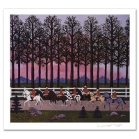 """Jane Wooster Scott Signed """"Foxy Gives 'Em The Slip"""" Limited Edition 12x14 Lithograph at PristineAuction.com"""