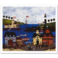 """Jane Wooster Scott """"The Maine Attraction"""" Signed Limited Edition 20x17 Lithograph at PristineAuction.com"""