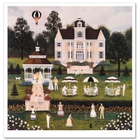 """Jane Wooster Scott Signed """"Southern Serendipity"""" Limited Edition 18x18 Lithograph (PA LOA) at PristineAuction.com"""