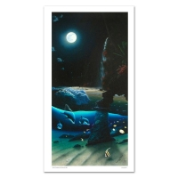 "Wyland Signed ""Island Paradise"" Limited Edition 20x40 Giclee on Canvas at PristineAuction.com"