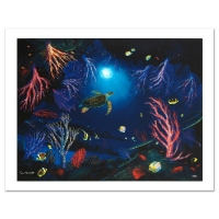 "Wyland Signed ""Coral Reef Garden"" Limited Edition 27x20 Giclee on Canvas at PristineAuction.com"