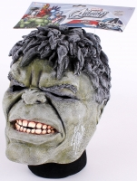 Stan Lee Signed Hulk Mask (Lee Hologram & Radtke)