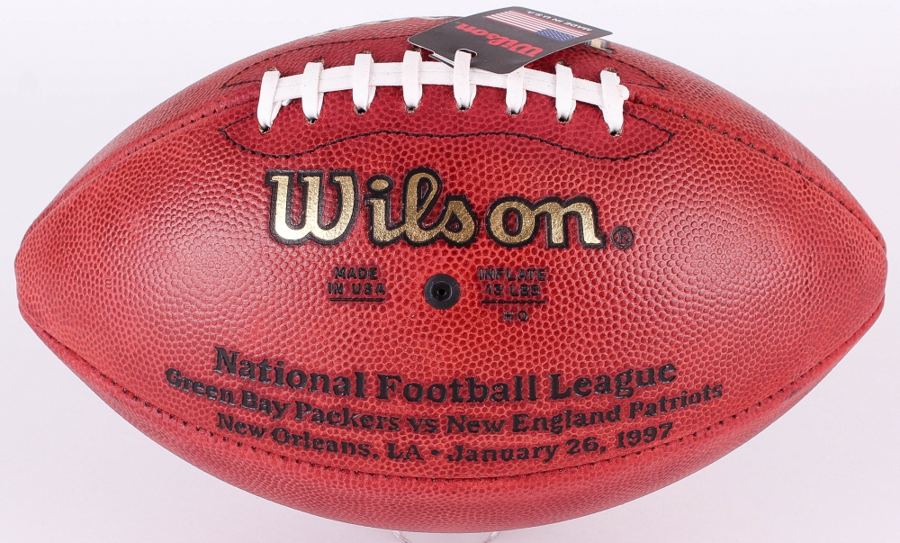 Brett Favre Signed Super Bowl Xxxi Official Nfl Game Ball