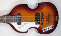 Paul McCartney Signed New Full-Size Left-Handed Hofner Beatle Electric Bass Guitar (JSA LOA)