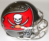 "Jameis Winston Signed LE Buccaneers Full-Size Authentic Pro-Line Speed Helmet Inscribed ""2015 #1 Pick"" (Steiner COA)"