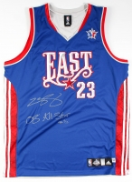 "LeBron James Signed LE 2008 All-Star Game Authentic Adidas On-Court Jersey Inscribed ""08 All-Star"" (UDA COA)"