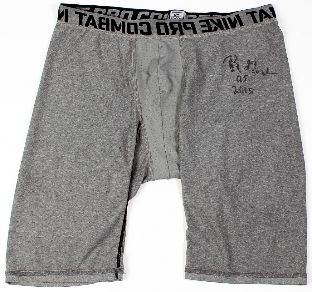 Rodney Gunter Signed Nike Game-Used Compression Shorts (The Players Locker  Hologram) at 2134fdf7736f