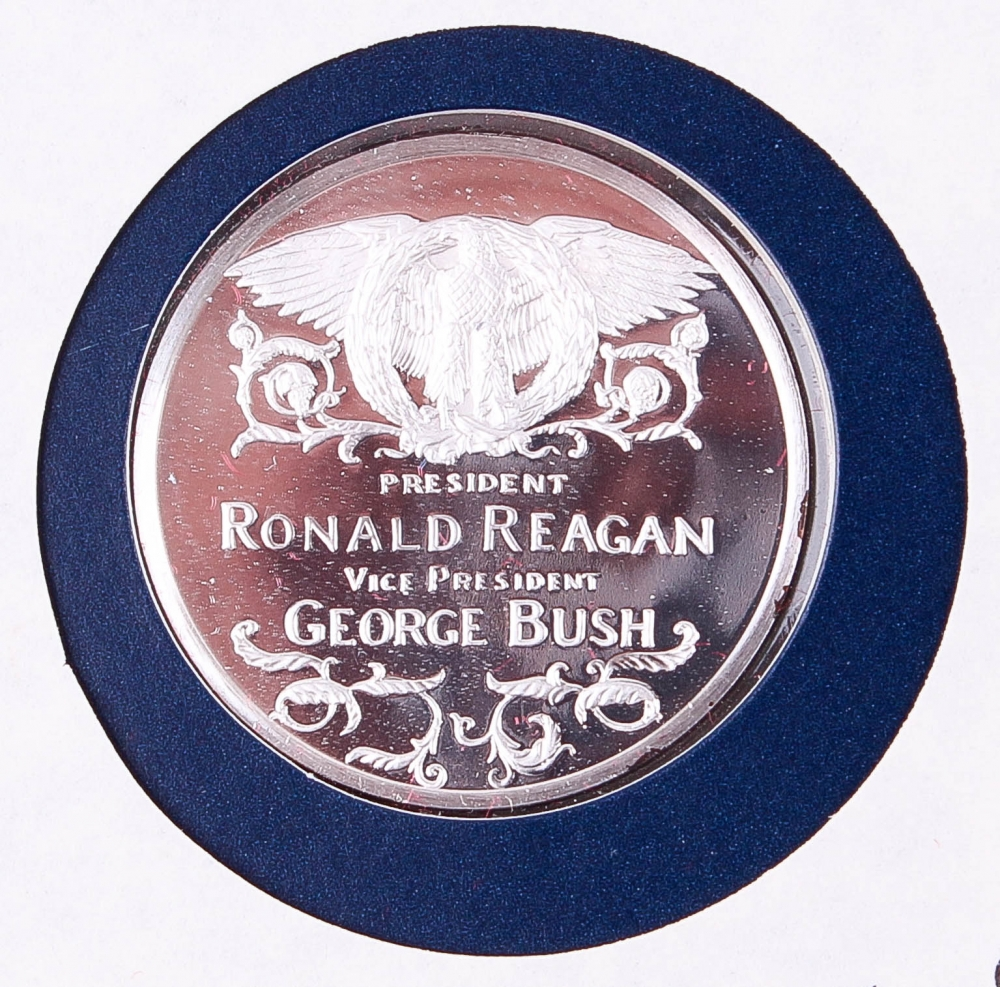 ronald reagan's second inaugural address 1985