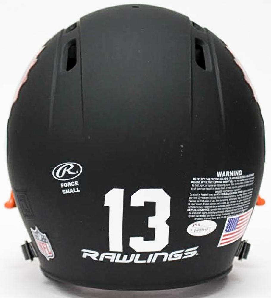 4f60dff01da74 Dan Marino Signed Dolphins Flat Matte Black Full-Size Helmet (JSA COA) at