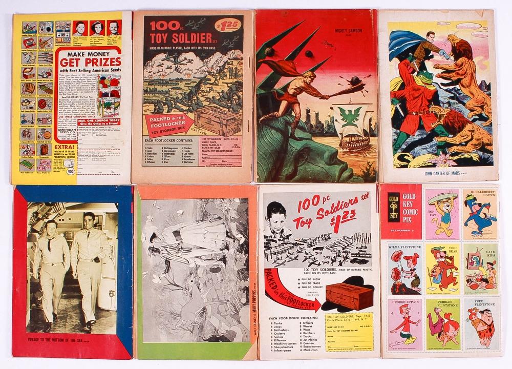 Lot Of 8 Vintage Kids Books Keller Volcano Greek Myth Animals Lusitania Ice Age