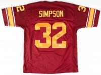 O.J. Simpson Signed USC Jersey (JSA COA)