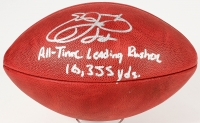 """Emmitt Smith Signed Official NFL Game Ball Inscribed """"All-Time Leading Rusher"""" & """"18,355"""" (Radtke COA & Smith Hologram)"""