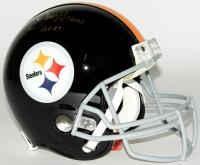 "Joe Greene Signed Steelers Throwback Full-Size Authentic Pro-Line Helmet Inscribed ""HOF 87"" (JSA COA)"