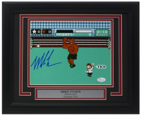 "Mike Tyson Signed ""Punch-Out!!"" 11x14 Custom Framed Photo Display with Engraved Nameplate (JSA COA) at PristineAuction.com"